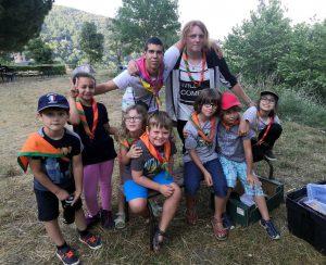 Camp d'été 2021 à Montferrer (2ème semaine avec les «Louvetins»)